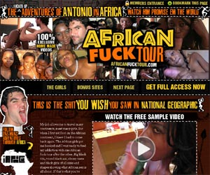 African Fuck Tour - Amateur Homemade Fuck Videos of One White Man's African Adventures